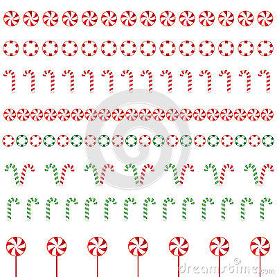 Christmas Borders Stock Illustration Image 61032637