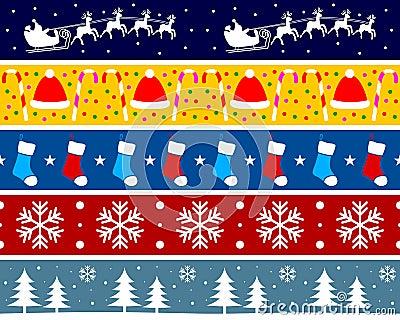 Christmas Borders Set [3]
