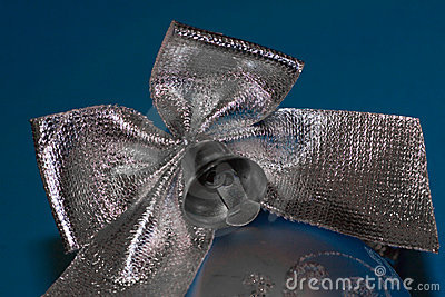 Christmas bow.