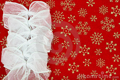 Christmas Bow Border