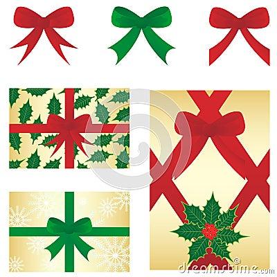Christmas bow&gift