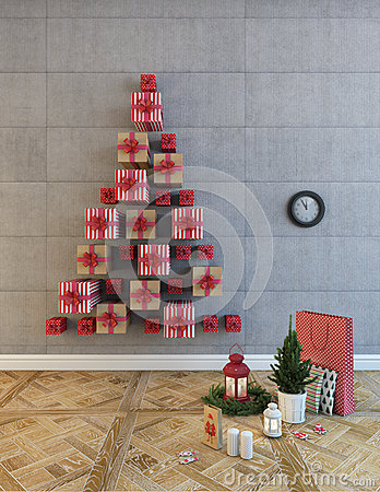 Christmas Boxes Tree