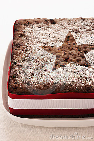Free Christmas Cake Royalty Free Stock Image - 12640116