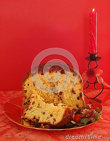 Free Christmas Cake Royalty Free Stock Photo - 1635635