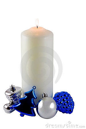 Free Christmas Candle Stock Photos - 6872343