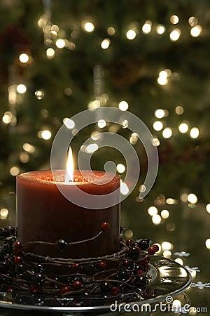 Christmas Candle Tree Lights