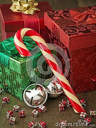 Christmas Candy Cane Still life