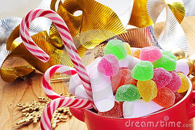 christmas-candy-canes-bowl-different-candies-such-as-table-some