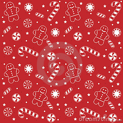 Christmas Candy Pattern