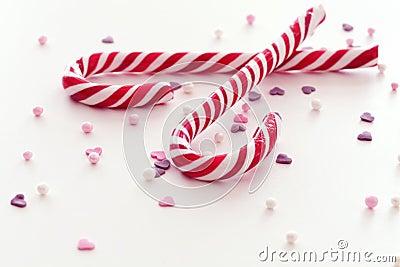 Christmas candy sticks