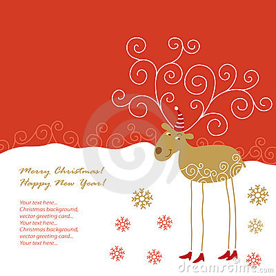 Free Christmas Card Stock Images - 11384354