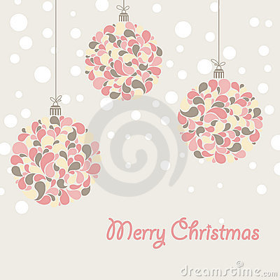 Free Christmas Card Royalty Free Stock Photography - 21753367