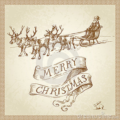 Free Christmas Card Stock Photography - 23024622