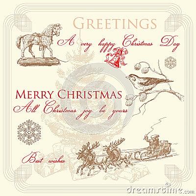 Free Christmas Card Stock Photography - 23026562