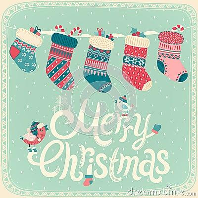 Free Christmas Card. Stock Photos - 46144433
