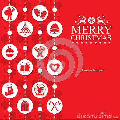 Free Christmas Card Royalty Free Stock Photos - 55164518