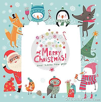 Free Christmas Card Stock Image - 61700481