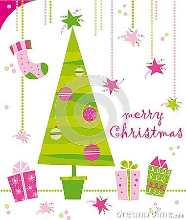 Free Christmas Card Royalty Free Stock Photos - 7272458
