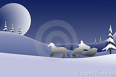 Christmas Card Background Design - 2