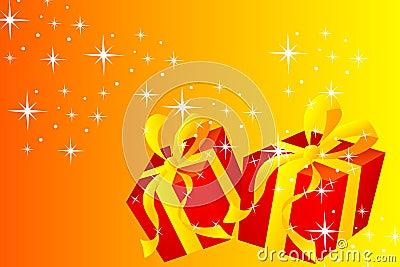 Christmas card - Gift