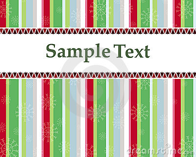Christmas card or invitation with trees vector