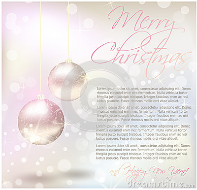 Christmas Card With Text Sample Royalty Free Images Image – Sample of Christmas Greetings