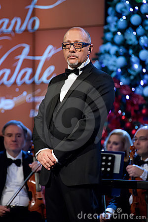 A Christmas Carol (Concert) 2011 - 16 Editorial Stock Image