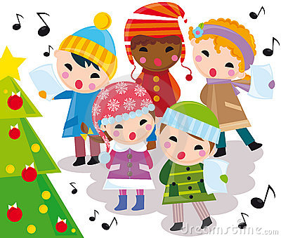 Christmas Carols on Christmas Carols Royalty Free Stock Images   Image  7148549
