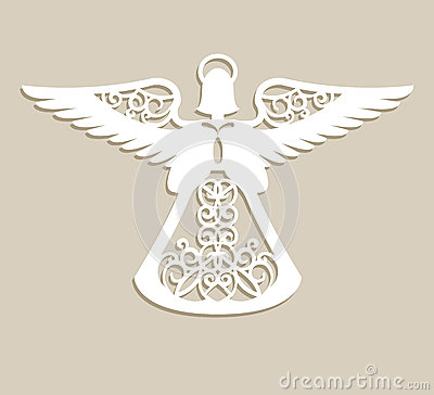 Free Christmas Carved Openwork Angel Royalty Free Stock Photo - 81119655