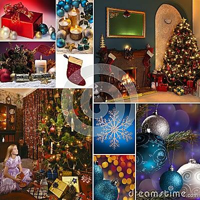 Christmas Celebrations Montage