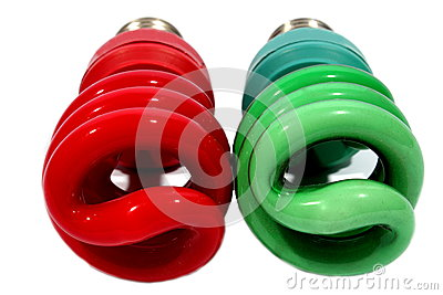 Christmas CFL Bulbs