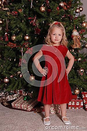 Christmas child.