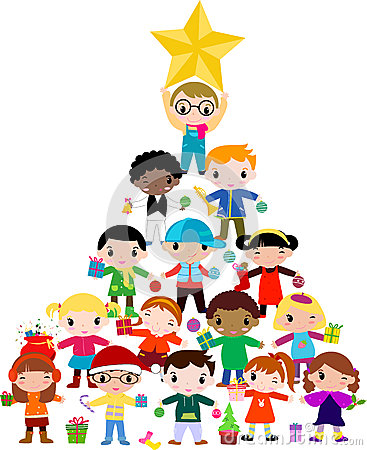 Free Christmas Children Royalty Free Stock Photography - 27422927