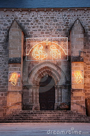 Christmas Church Nativity Lights