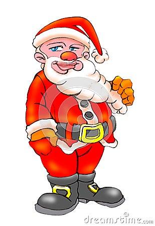 Christmas clauss beard