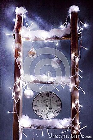 Christmas clock