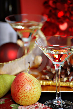 Free Christmas Cocktails Royalty Free Stock Photos - 6804088