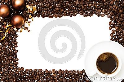 Christmas Coffee Border