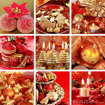 Free Christmas Collage Royalty Free Stock Photos - 10271378