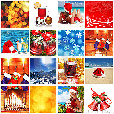 Free Christmas Collage Royalty Free Stock Image - 11476926