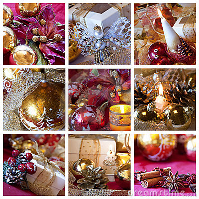 Free Christmas Collage Stock Photo - 15928950