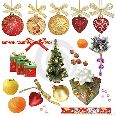 Christmas collection / isolated objects