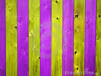 Christmas Colored Wooden Fence Board Background