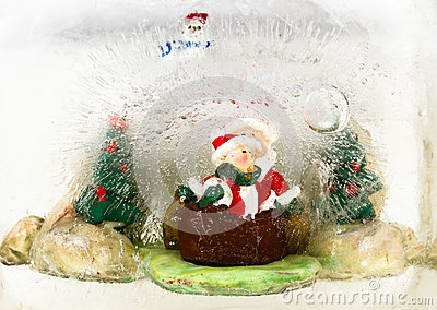 Santa Claus in Christmas