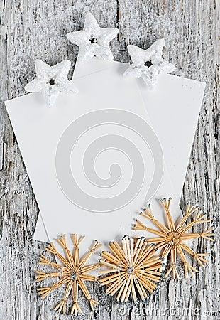 Christmas congratulation card