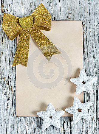 Christmas congratulation card