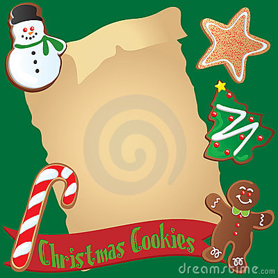 Christmas Cookie Recipe or Invitation