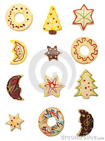 Free Christmas Cookies Stock Image - 12353831