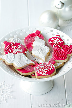 Free Christmas Cookies Royalty Free Stock Images - 26917459