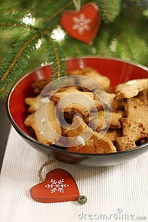 Free Christmas Cookies Royalty Free Stock Photos - 3771148